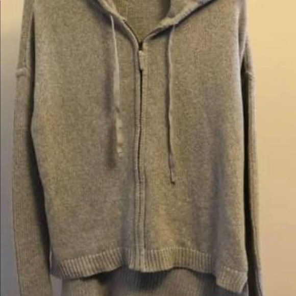 Athleta Revive zip up Sweatshirt.